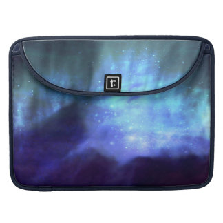 Blue stars in space sleeve for MacBook pro