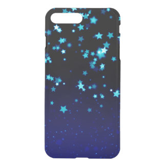 Blue Stars - iPhone 7 Plus Clearly™ Deflector Case