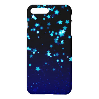 Blue Stars - iPhone 7 Plus Glossy Case