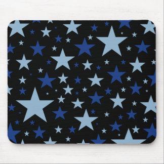 Blue Stars mousepad