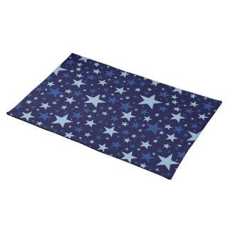 Blue Stars placemat