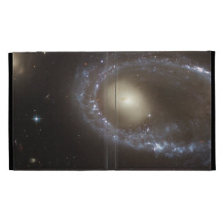 Blue Stars Ring Nucleus of Galaxy iPad Folio Cover