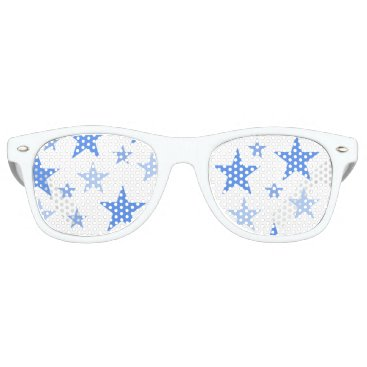 Beach Themed Blue Stars sunglasses