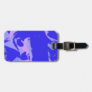 Blue Statue of Liberty Tag For Luggage