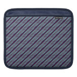 blue steal stripe pattern sleeve for iPads