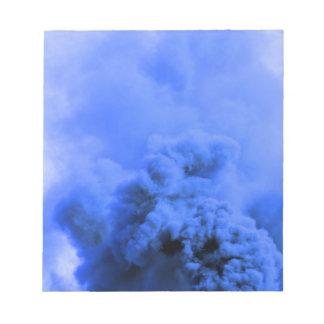 Blue steam