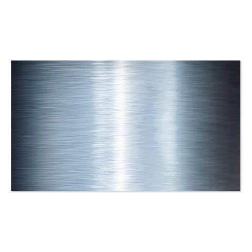 Blue Steel Business Card Template