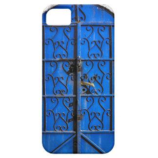 Blue Steel Door iPhone Cover