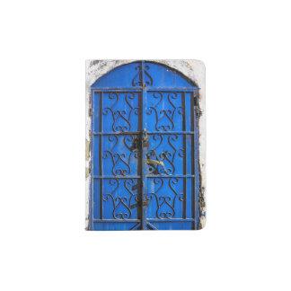 Blue Steel Door Passport Holder