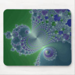 Blue Steel - Fractal Mousepad
