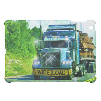 Blue Steel Freight Truck Road Transport Truckers Cover For The iPad Mini