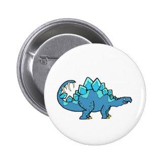 Blue Stegasaurus Pins