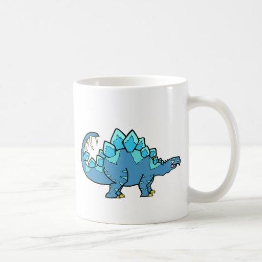 Blue Stegasaurus Coffee Mug
