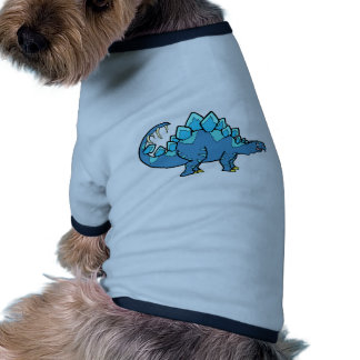 Blue Stegasaurus Doggie Tee