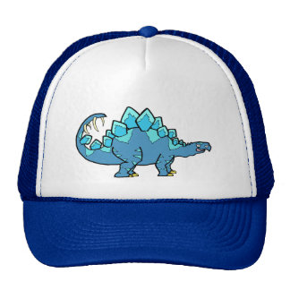 Blue Stegasaurus Trucker Hat