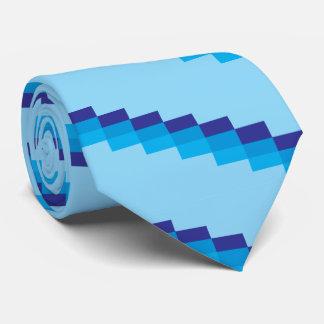 Blue steps Tie