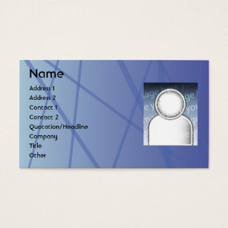 Blue Sticks - Business Business Card