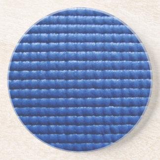 Blue Sticky Yoga Mat Coaster