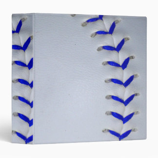 Blue Stitches Baseball / Softball Binder