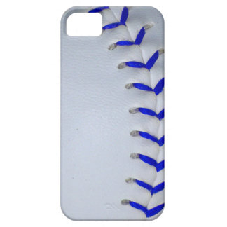 Blue Stitches Baseball / Softball iPhone SE/5/5s Case