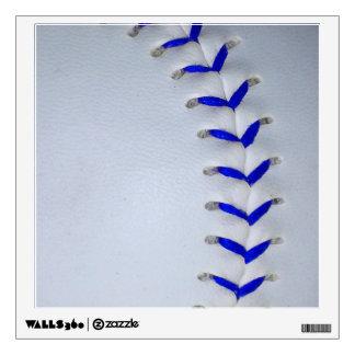 Blue Stitches Baseball / Softball Wall Sticker