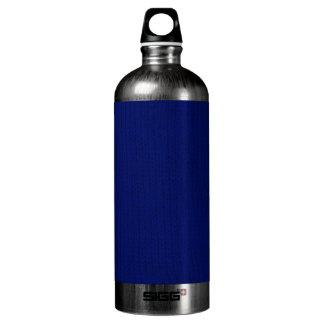 Blue Stockinette Aluminum Water Bottle