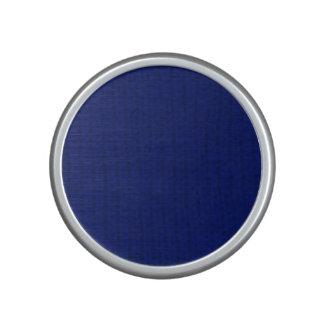Blue Stockinette Bluetooth Speaker
