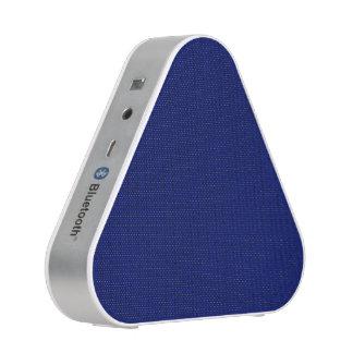 Blue Stockinette Speaker