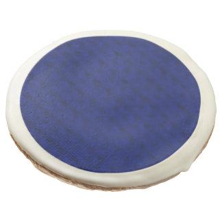 Blue Stockinette Sugar Cookie