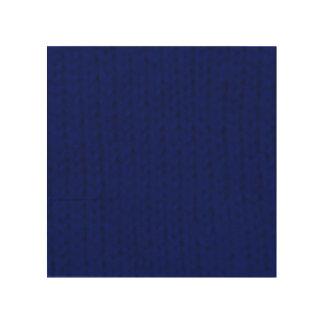 Blue Stockinette Wood Print