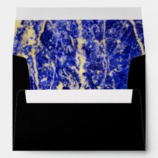 Blue Stone Envelope