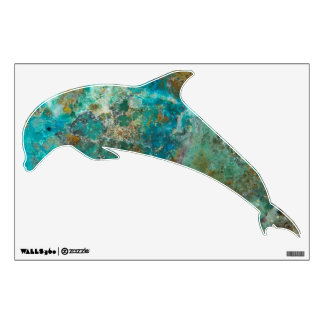 Blue Stone Image Dolphin Design (1) Wall Decal