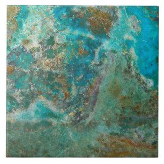 Blue Stone Image Tile