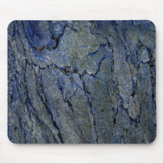 Blue Stone Lapis Lazuli Pattern Mouse Pad