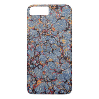 Blue Stone Marbled Paper iPhone 7 Plus Case
