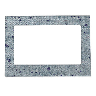 Blue Stone Stitch - Magnetic Frame