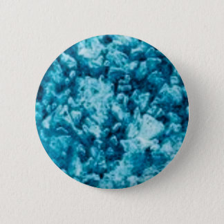 blue stone surface pinback button