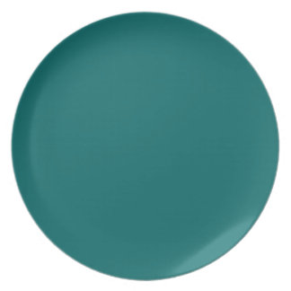 Blue Stone Teal Plate