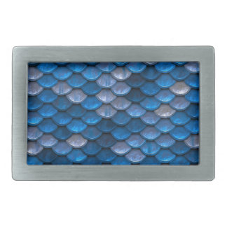 Blue Stone - WOWCOCO Rectangular Belt Buckle