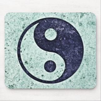 Blue Stone Yin Yang Mousepads
