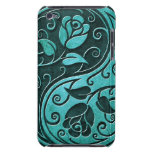 Blue Stone Yin Yang Roses iPod Touch Cover