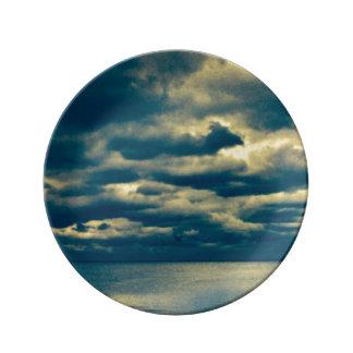 Blue Storm plate