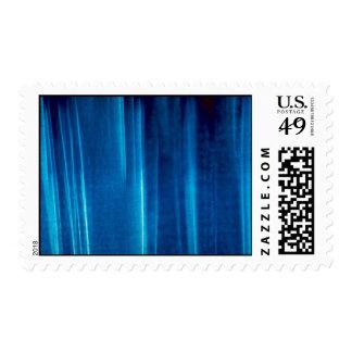 Blue strands stamp