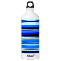 BLUE STRATA ~ WATER BOTTLE