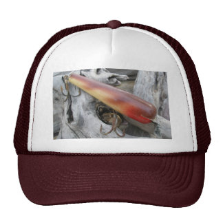 Blue Streak Red Junior Swimmer Vintage Lure Hat