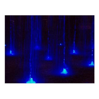 Blue Streams of Water Postcard