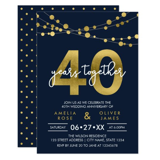 10 Year Wedding Anniversary Invitations: 10 Year Anniversary Invitations