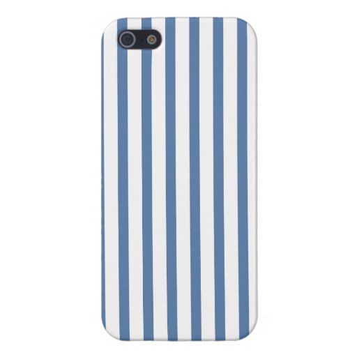 Blue stripe  iPhone 5 Cover For iPhone SE/5/5s