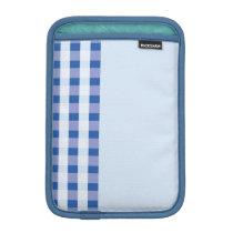 blue stripe pattern ipad mini sleeve