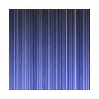 Blue Striped Background Canvas Print